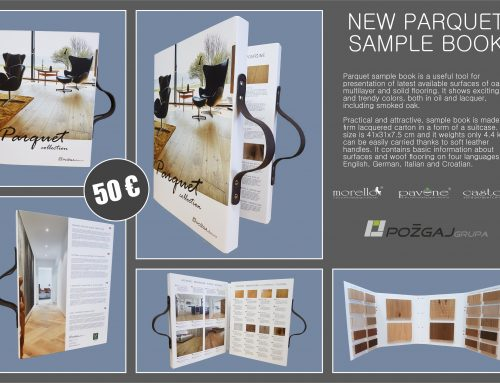 New edition of parquet sample book