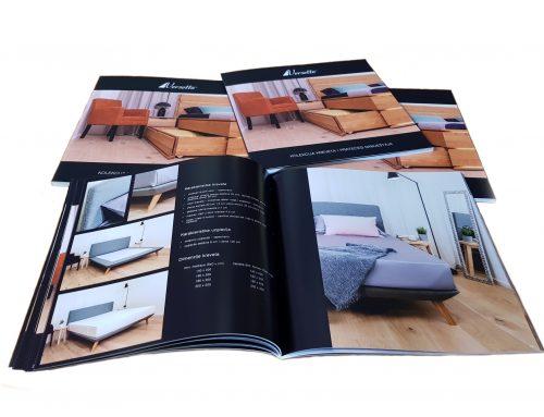 Katalog kreveta i pratećeg namještaja
