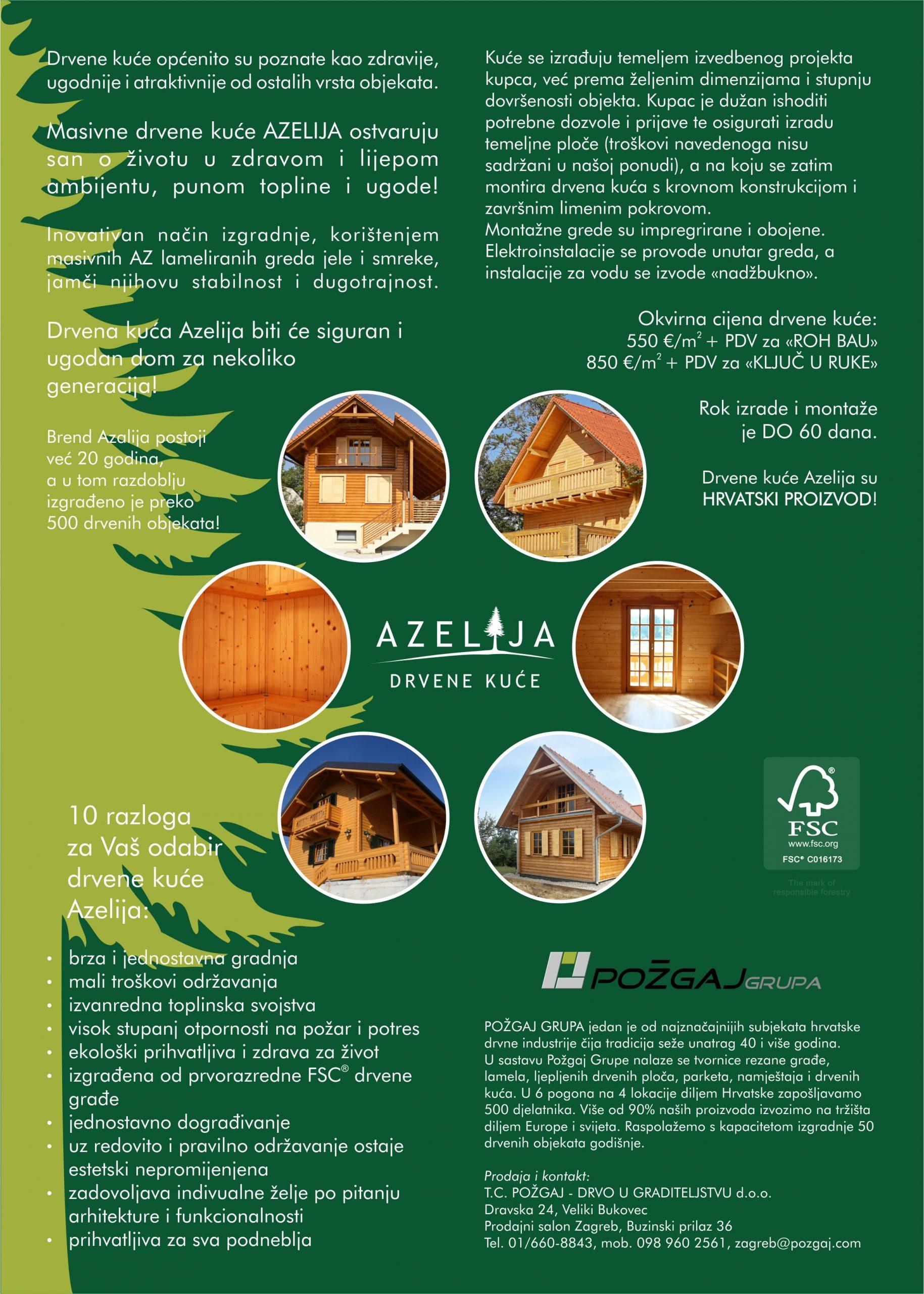 """Donatorski projekt """"5 kuća za 5 obitelji"""""""